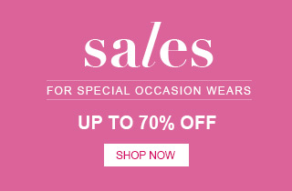 Sales for special occasion wears