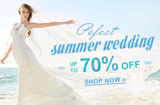 Perfect Summer Wedding Dresses Up To -70%