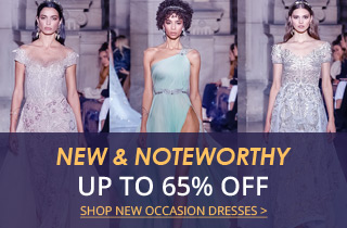 New & Noteworthy Special Occasion Dresses